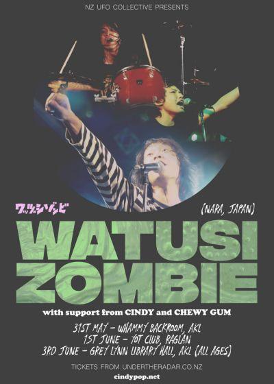Watusi Zombie (JPN), Cindy, Chewy Gum