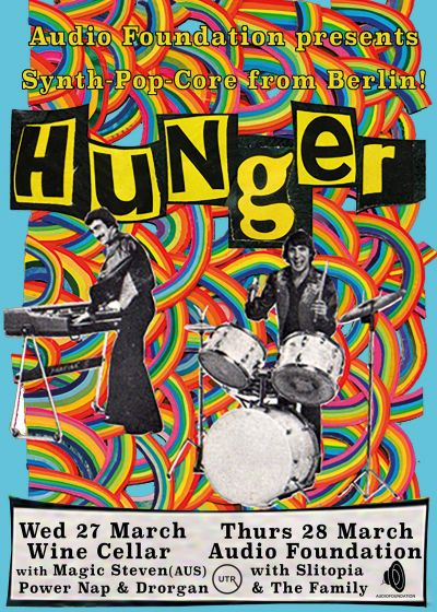 Audio Foundation Presents: Hunger (Berlin)