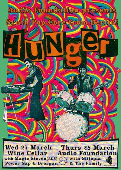 Audio Foundation Presents: Hunger (Berlin) #2