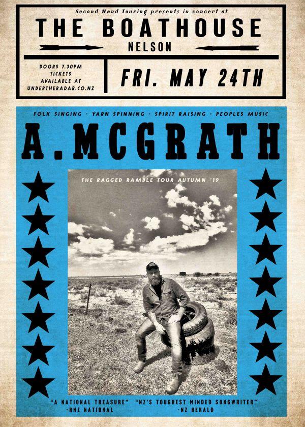 Adam Mcgrath Ragged Ramble Tour