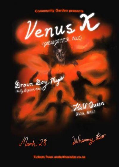 Community Garden Presents Venus X (GHE20G0TH1K, NYC)