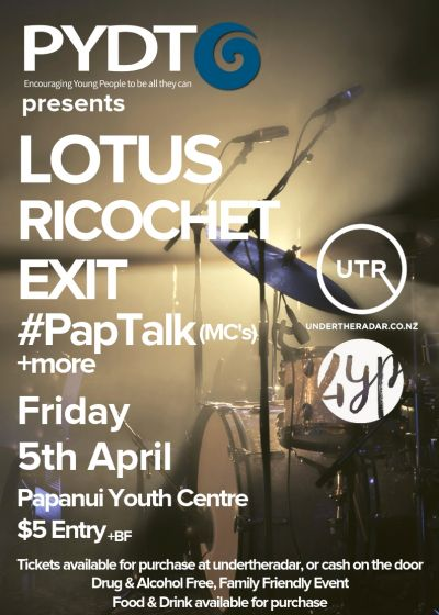 PYDT Presents: Lotus, Ricochet, Exit and more!