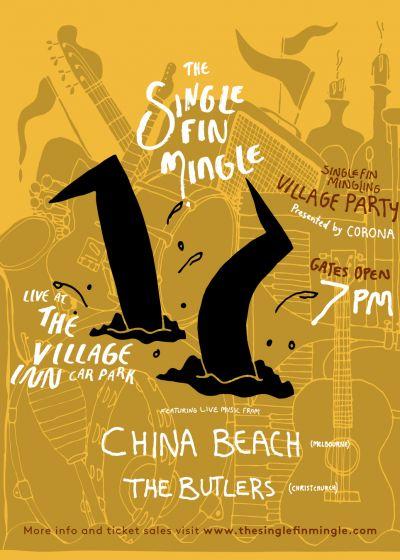 The Single Fin Mingle Village Party