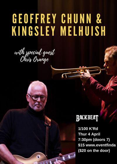 Geoffrey Chunn and Kingsley Melhuish