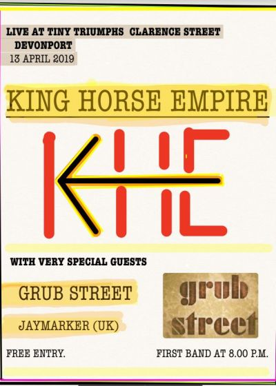 King Horse Empire, Grub Street, Jaymarker
