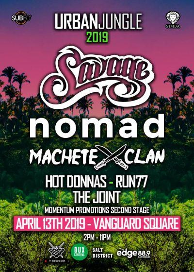 Savage, Machete Clan, nomad, Hot Donnas