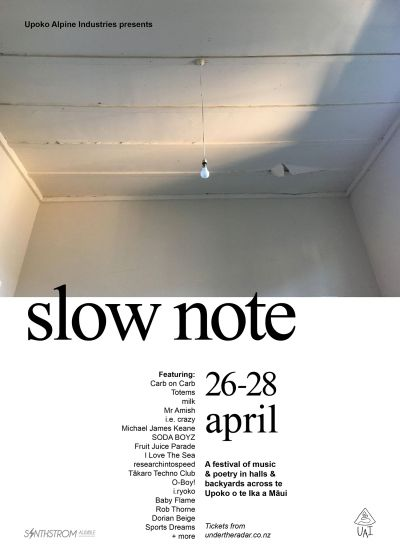 Slow Note 2019