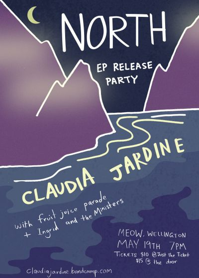 Claudia Jardine 'North EP' Release Party