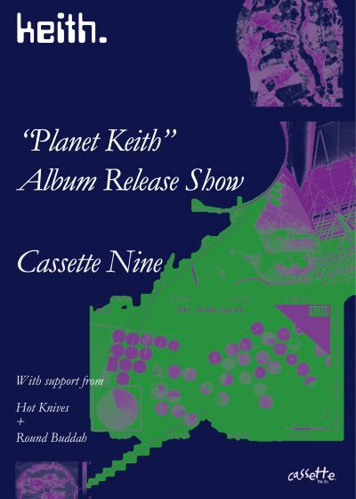 Planet Keith Album Release - Keith, Hot Knives, Round Buddah
