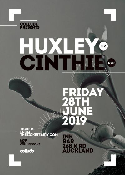 Collude Presents. Huxley (UK) And Cinthie (GER)