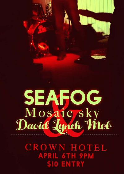 Seafog And Mosaic Sky With Support By The David Lynch Mob