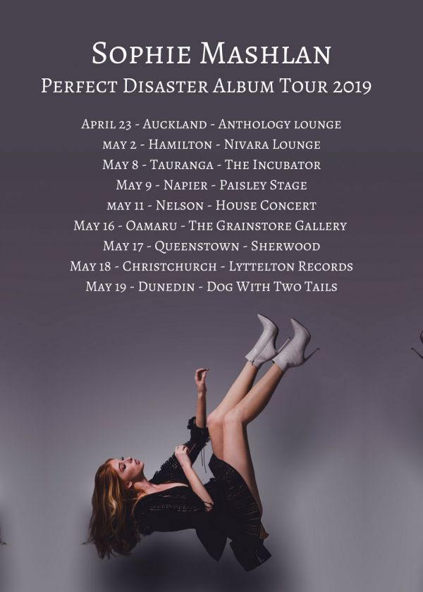 Sophie Mashlan Perfect Disaster Album Tour 2019