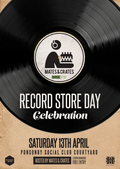 Record Store Day Celebration With Mates&Crates