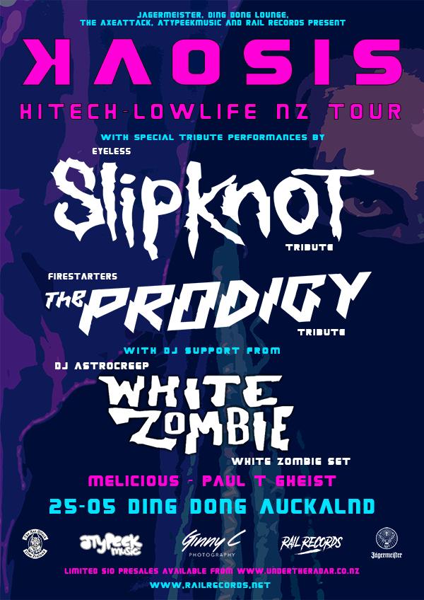 Kaosis: Hitech - Lowlife NZ Tour