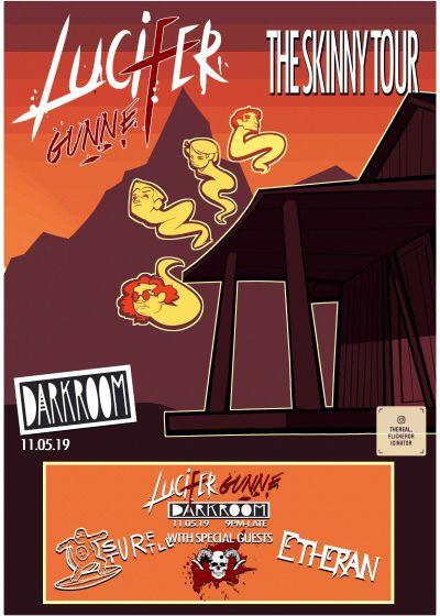 Lucifer Gunne - The Skinny Tour