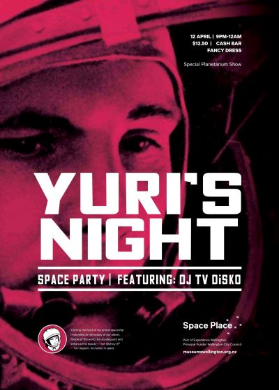 Yuri's Night - TV DiSKO