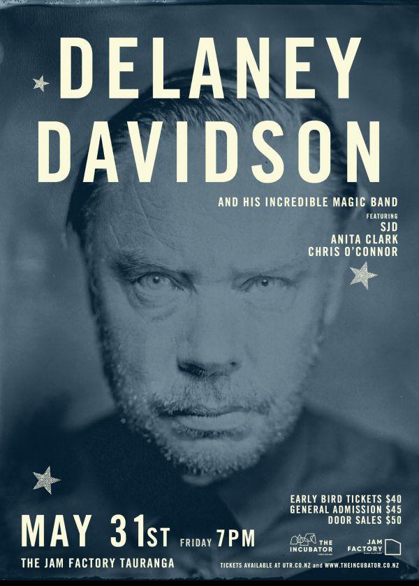 Delaney Davidson Live In Tauraunga