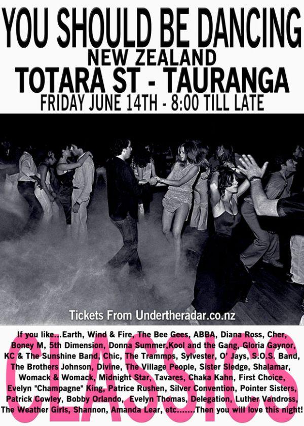 You Should Be Dancing - NZ Tour 2