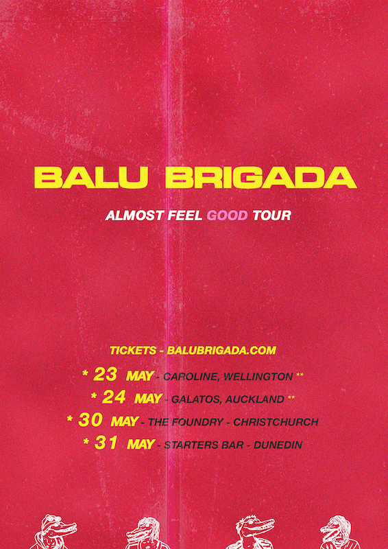 Balu Brigada - Almost Feel Good Tour