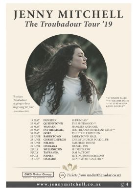 Jenny Mitchell - The Troubadour Tour