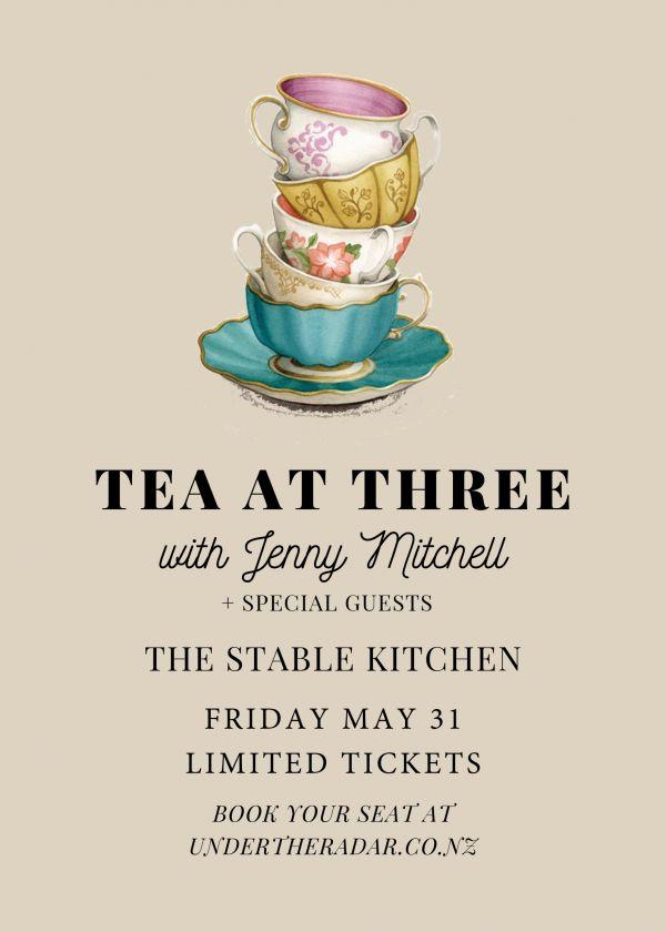 Jenny Mitchell - Tea At Three