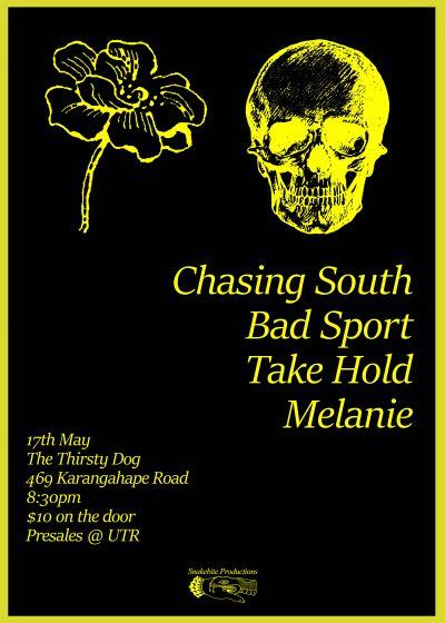 Chasing South / Bad Sport / Take Hold / Melanie