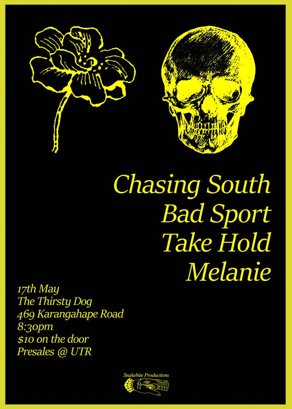 Chasing South / Bad Sport / Take Hold / Melanie