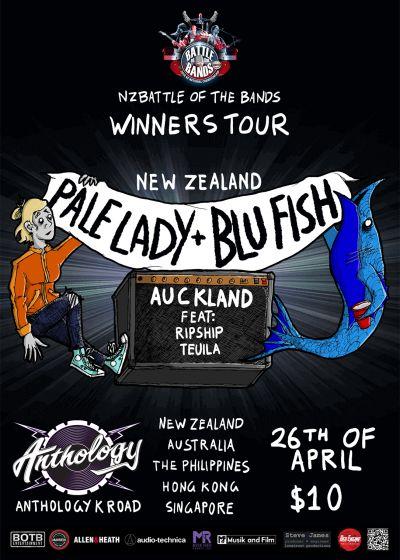 Pale Lady + Blu Fish NZ Tour