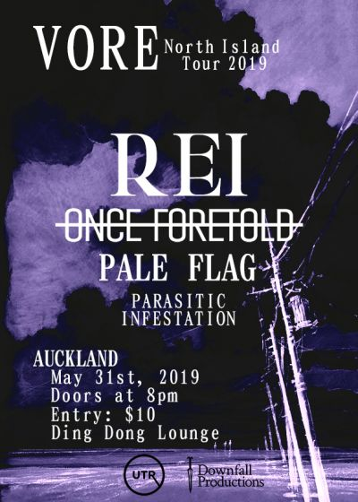 Vore North Island Tour - Rei And Once Foretold - Phase 1