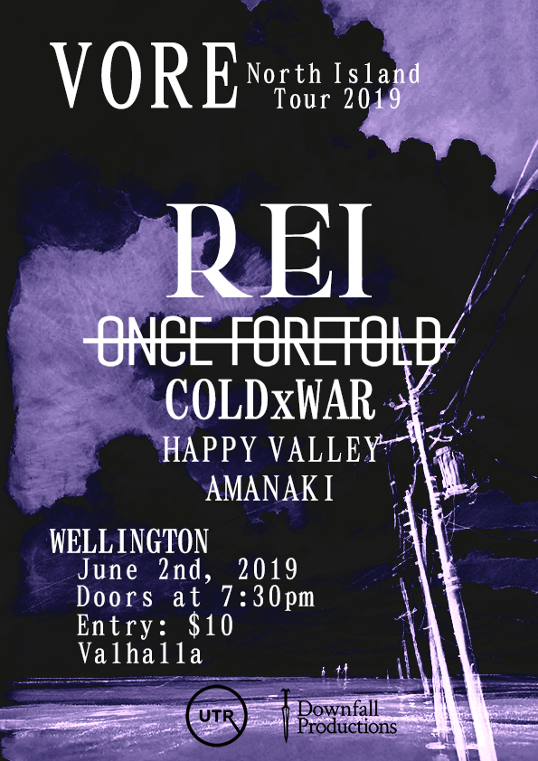 Vore North Island Tour - Rei And Once Foretold - Phase 3