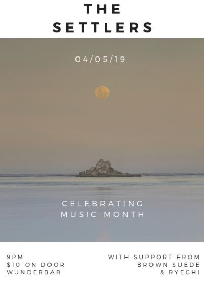 The Settlers - Celebrating Music Month