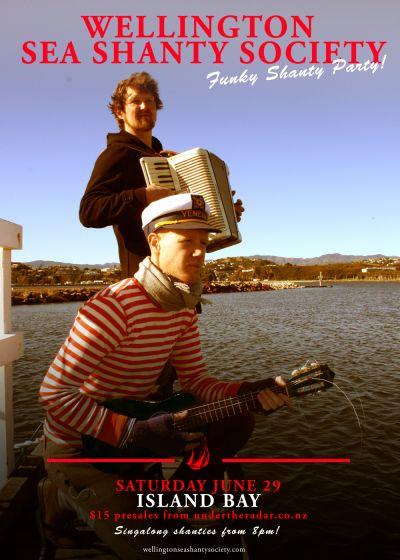 Wellington Sea Shanty Society Presents: A Funky Shanty Party
