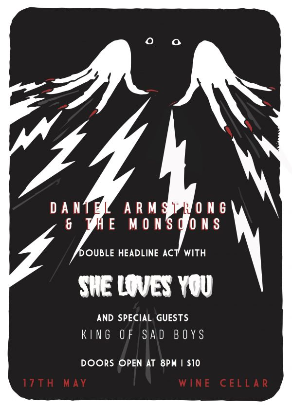 Daniel Armstrong and The Monsoons and She Loves You... plus Guests