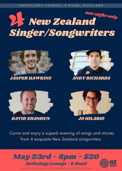 NZ Music Month Singer Songwriters Night