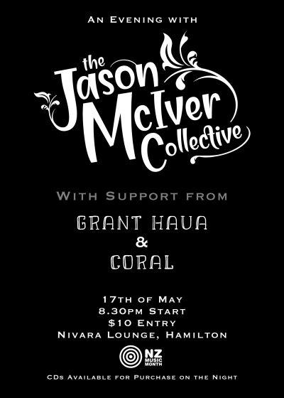 The Jason Mciver Collective w/grant Haua And Coral