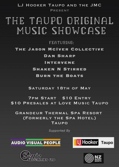 The Taupo Original Music Showcase