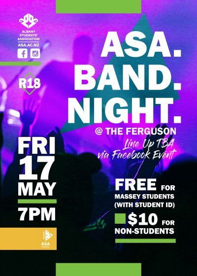 Albany Students' Association Band Night