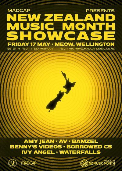 Madcap Presents NZMusic Month Showcase