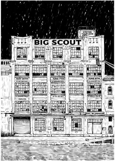 Big Scout Winter Tour with guests Koizilla and Evil Kid