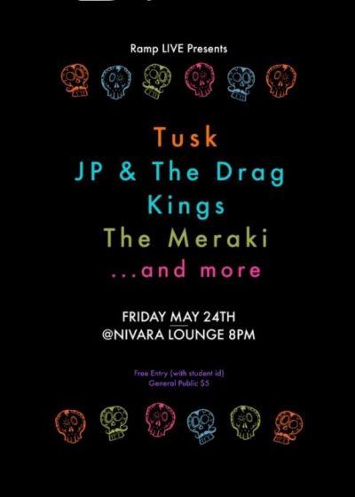 TUSK, JP & The Drag Kings, Meraki