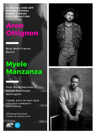 Aron Ottignon and Myele Manzanza