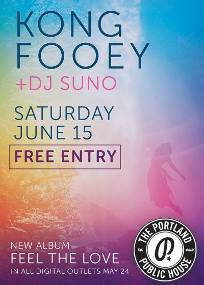 Kong Fooey + Dj Suno