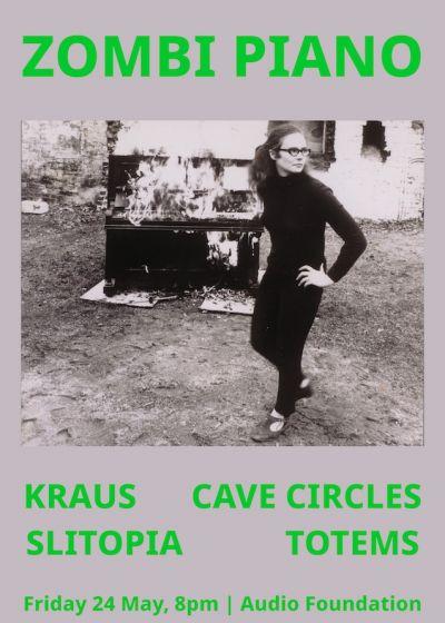Zombi Piano: Kraus, Totems, Cave Circles, Slitopia