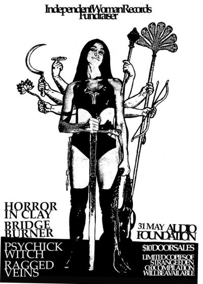 Horror In Clay, Psychick Witch, Ex-tt, Bridge Burner, Ragged Veins