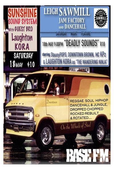 Sunshine Sound System + Laughton Kora