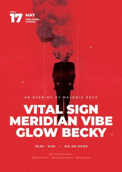 Meridian Vibe, Glow Becky, Vital Sign