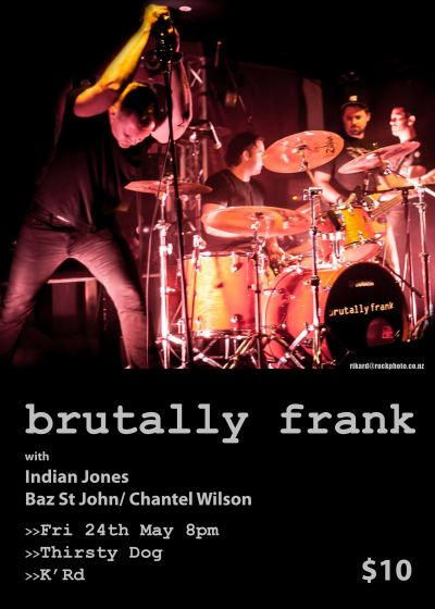 Brutally Frank Are Back!