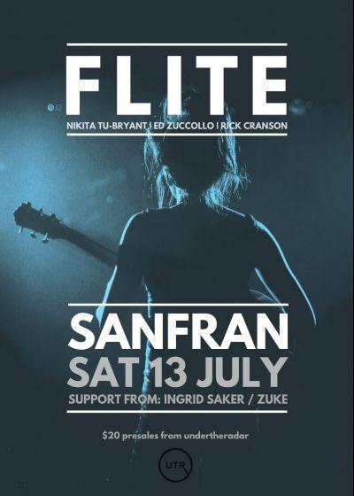 Flite | Wellington | Ingrid Saker and Zuke (Late Set)