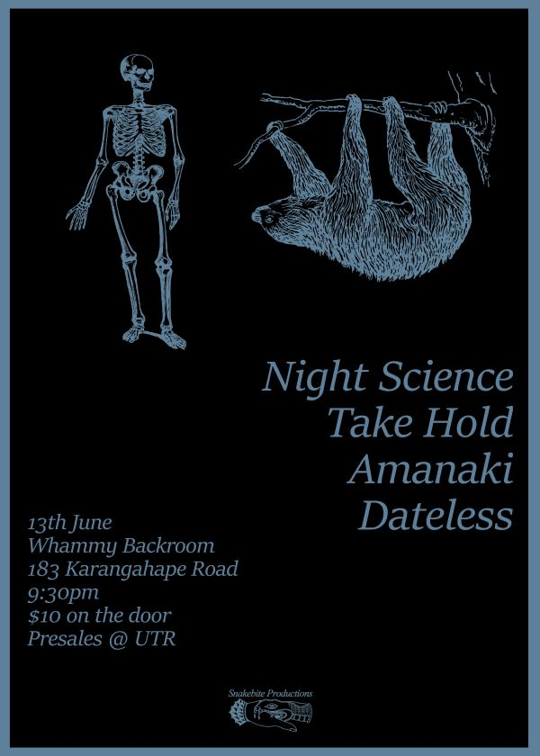Take Hold / Dateless / Amanaki / Night Science