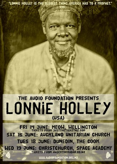 Lonnie Holley (USA) - Christchurch